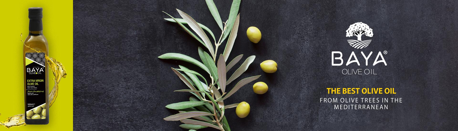 L'huile d'olive BAYA a une saveur distincte